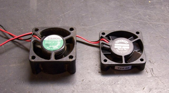 Original and replacement cooling fans from Linksys EG0008